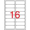 APLI Etikett, univerzális, 99,1x34 mm, kerekített sarkú, , 1600 etikett/csomag