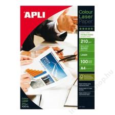 APLI Fotópapír, lézer, A4, 210 g, fényes, kétoldalas, APLI Premium Laser (LEAA11833) fotópapír