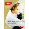 "APLI Fotópapír, tintasugaras, A3, 200 g, fényes, APLI ""Photo Bright"""