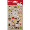 APLI Matrica, pufi, APLI, sütemények (LCA13896)