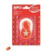 """APLI Mintalyukasztó, csillag, 25,4 mm, APLI """"Creative"""", narancssárga"""