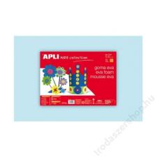 APLI Moosgumi, 400x600 mm, APLI Eva Sheets, világoskék (LCA12764) dekorgumi