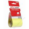 APLI Öntapadó jegyzetpapír tekercsben, APLI, 60 mm x 10 m (LNP11595)