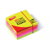 APLI Öntapadó jegyzettömb, 51x51 mm, 250 lap, APLI, neon