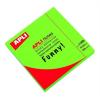 APLI Öntapadó jegyzettömb, 75x75 mm, 100 lap, APLI, neon zöld
