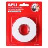 APLI Ragasztó tekercs, 3D, kétoldalas, szivacs, APLI, 19 mm x 2,28 m, fehér (LCA13986)