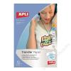 APLI Vasalható fólia, tintasugaras, fehér pólóhoz, APLI (FOTA4128)