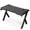 Apollon R5 beépített ledes gamer asztal, 140cm*60cm*73cm