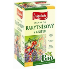 Apotheke Bio homoktövis tea 20db gyógytea