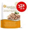 Applaws aszpikban tasakban gazdaságos csomag 32 x 70 g - Tonhal vegyes csomag