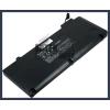 """Apple A1322 MacBook Pro 13"""" MB990CH/A 63 Wh 6 cella fekete notebook/laptop akku/akkumulátor utángyártott"""