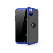 Apple Apple iPhone 11 Pro hátlap - GKK 360 Full Protection 3in1 - Logo - fekete/kék tok és táska