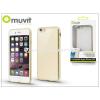 Apple Apple iPhone 6/6S hátlap - Muvit Frame TPU - clear/gold