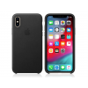 Apple Apple iPhone XS eredeti gyári bőr hátlap - MRWM2ZM/A - black