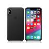 Apple Apple iPhone XS Max eredeti gyári bőr hátlap - MRWT2ZM/A - black