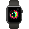 Apple Apple Watch Series 3 38mm MR352 Alluminium Fekete - Szürke Sport szijjal