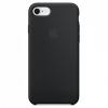 Apple Eredeti szilikon fedél Apple iPhone 8 / 7 készülékre - fekete
