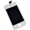 Apple Gyári iPhone 4 LCD modul fehér ORG