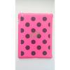 Apple iPad 2 pink alapon fekete pöttyös hátlapvédő
