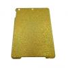 Apple iPad AIR, Műanyag hátlap védőtok, csillogós, arany