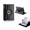 Apple iPad Mini 3, bőrtok, mappa tok, elforgatható (360°) fekete