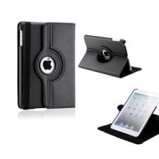 Apple iPad Mini 3, bőrtok, mappa tok, elforgatható (360°) fekete tablet tok