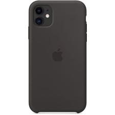 Apple iPhone 11 szilikon tok fekete tok és táska