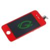 Apple iPhone 4G bordó keretes LCD kijelző érintővel
