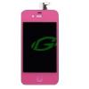 Apple iPhone 4G pink keret nélküli LCD kijelző érintővel