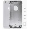 Apple iPhone 6 4.7 hátlap (akkufedél) alsó-felső takaróval, sim kártya tartóval és gombokkal ezüst OEM**
