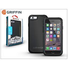 Apple iPhone 6/6S ütésálló védőtok - Griffin Survivor Adventure - black tok és táska