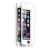 Apple iPhone 6G / 6S (4.7) 5D hajlított előlapi üvegfólia fehér