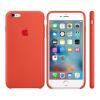 Apple iPhone 6S Plus gyári szilikon tok, narancssárga MKXQ2