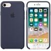 Apple iPhone 8/7 gyári szilikon hátlap tok, éjkék, MQGM2ZM/A