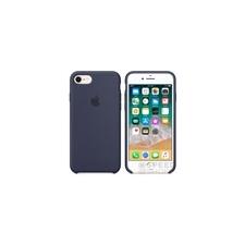 Apple iPhone 8/7 gyári szilikon hátlap tok, éjkék, MQGM2ZM/A tok és táska