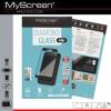 Apple iPhone 8, Kijelzővédő fólia, ütésálló fólia (az íves részre is!), MyScreen Protector, Diamond Glass (Edzett gyémántüveg), fekete