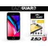 Apple iPhone 8 Plus, Kijelzővédő fólia (az íves részre is), Eazy Guard, Diamond Glass (Edzett gyémántüveg), fekete