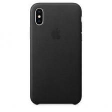 Apple iPhone X bőrtok - fekete tok és táska