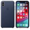 Apple iPhone XS Max gyári bőr hátlap tok, vörösesbarna, MRWV2ZM/A