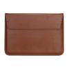 """Apple MacBook Air 13 (13.3""""), laptop táska, asztali tartó, stand, bújtatós, SZEGYCHX, barna"""
