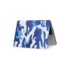 """Apple MacBook Pro 13 (13.3""""), Műanyag hátlap védőtok, terep minta, kék"""
