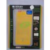 Apple Mercury Apple iPhone 5G/5S/5SE elő- és hátlapi kijelzővédő fólia sárga