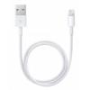 Apple MQUE2ZM/A USB adatkábel, töltőkábel fehér, OEM (lightning, iPhone X)