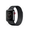 Apple Watch 3 38mm Stainl. Steel w/ Milanese Black Band  MR1Q2ZD/A