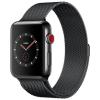 Apple Watch 3 GPS + Cellular 38mm Space Gr. Alu Case Black Sp. Band  MQKG2ZD/A