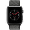 Apple Watch 3 GPS + Cellular 42mm Space Gr. Alu Case Olive Sp.Loop  MQKR2ZD/A