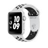 Apple Watch Series 3 Nike+ 38mm Ezüst színű alumíniumtok platina-fekete Nike sportszíjjal