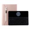 """AppleKing Borító billentyűzettel vezeték nélküli töltéssel iPad 9.7"""" (2017 / 2018) / iPad Air - rózsaszín-arany"""