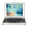"""AppleKing Erős tok vezeték nélküli billentyűzettel Apple iPad Air 2 / iPad Pro 9.7"""" - ezüst"""