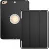 """AppleKing Extra tartós védő borító alvás funkcióval Apple iPad 9.7"""" (2017) / iPad 2018 / iPad Air - fekete / szürke"""